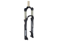 RockShox Reba RLT Solo Air MTB Geveerde Vork 1 1/8 inch, 100 mm, Push Loc zwart